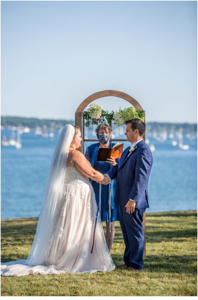 A Socially Distanced Wedding in Maine