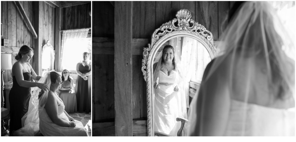 THE BARN AT SILVER OAKS: KACI + CASEY - Bride getting ready