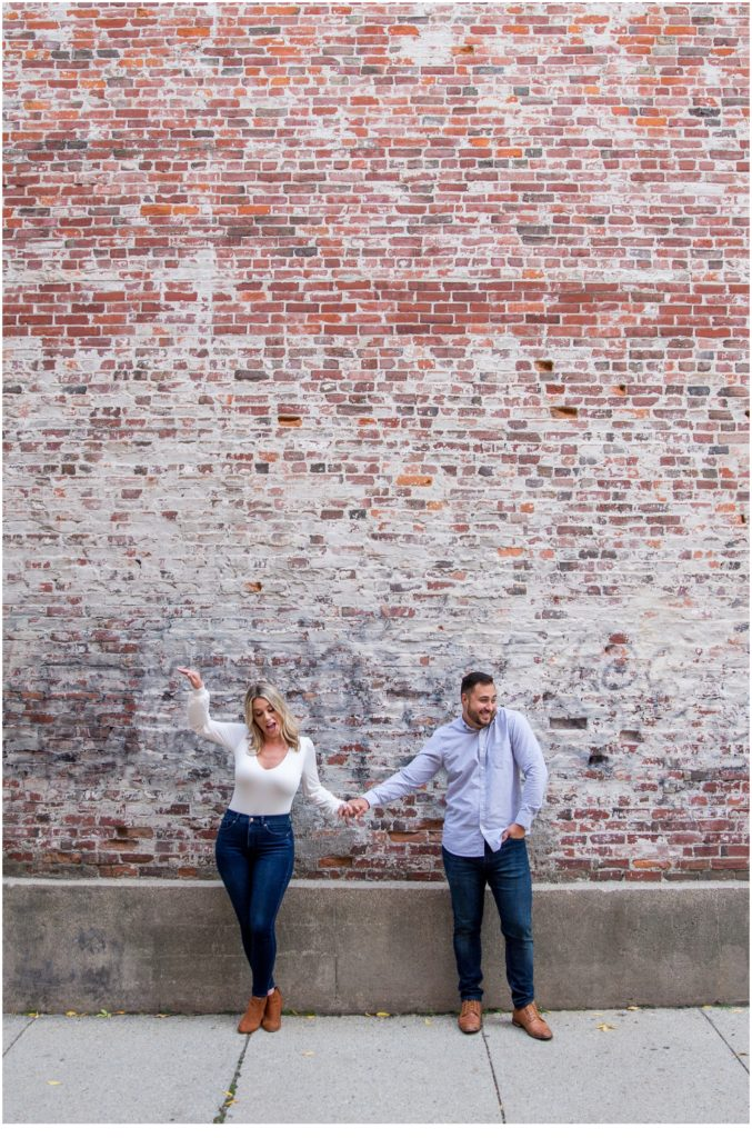 OLD PORT & KETTLE COVE ENGAGEMENT: KATE + TONY