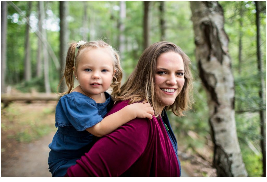 MOTHER-DAUGHTER PHOTOS AT WOLFE'S NECK PARK, FREEPORT