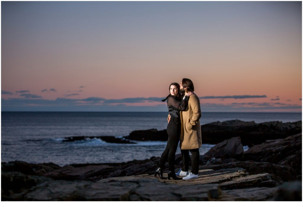 A WINTER PROPOSAL AT CLIFF HOUSE